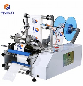FK603 Semi Automatic Wine Bottle Labeling Machine