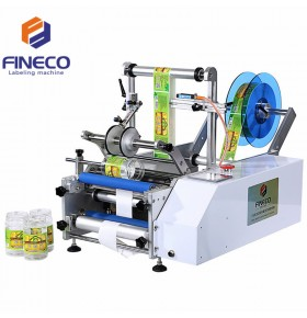 FK602 Semi Automatic Round Bottle Labeling Machine