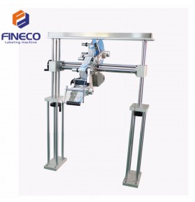 FK839 Automatic Production Line Labeling Machine with Portal Frame