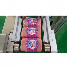 Custom-Made Series--FK816S Automatic Sausage C-Wrap Labeling Machine
