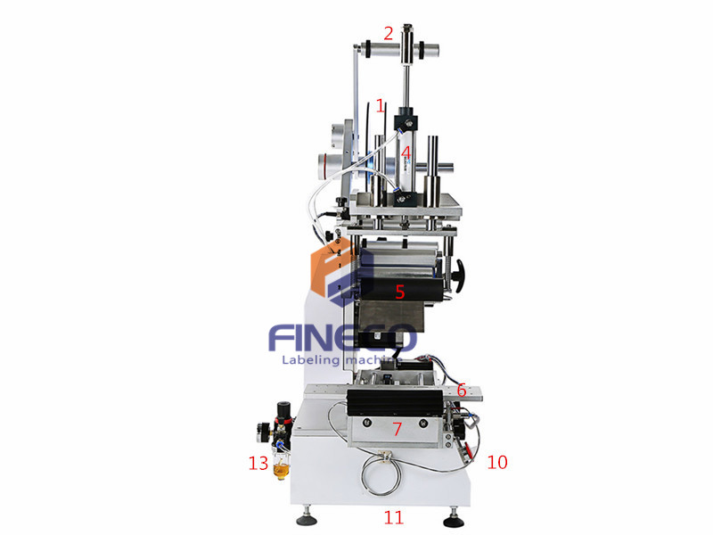 FK617 Semi Automatic Plane Labeling Machine