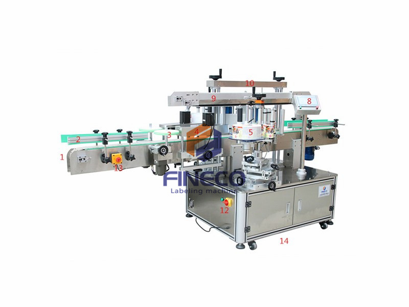 FK910 Automatic Double Side Labeling Machine (1)